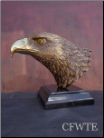 Freedom of the Sky Eagle Bust (SKU: AE0121)