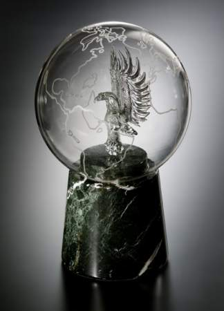 Crystal Eagle in Globe Award